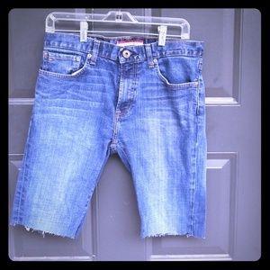 Tommy Hilfiger Cut Off Denim Shorts